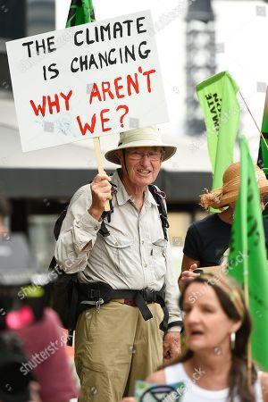 Editorial photo of Extinction Rebellion protest in Brisbane, Australia - 09 Oct 2019