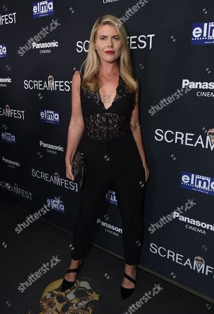 Editorial image of Screamfest opening night, Los Angeles, USA - 08 Oct 2019
