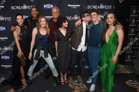 Angelique Rivera, Jim Titus, Kym Johnson, Patrick Fabian, Sarah Yarkun, Rodman Flender, Jake Cannavale and Kristin Daniel