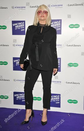 Editorial picture of Specsavers Spectacle Wearer of the Year Awards, London, UK - 08 Oct 2019