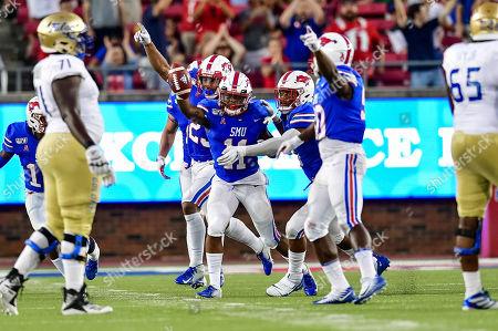 Editorial photo of NCAA Football Tulsa vs SMU, Dallas, USA - 05 Oct 2019