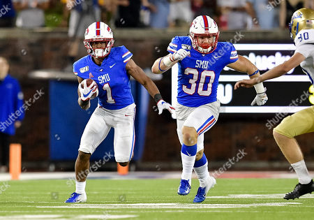 Editorial picture of NCAA Football Tulsa vs SMU, Dallas, USA - 05 Oct 2019