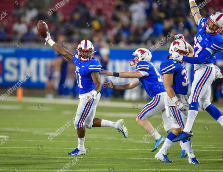 Editorial picture of NCAA Football Tulsa vs SMU, Dallas, USA - 05 Oct 2019