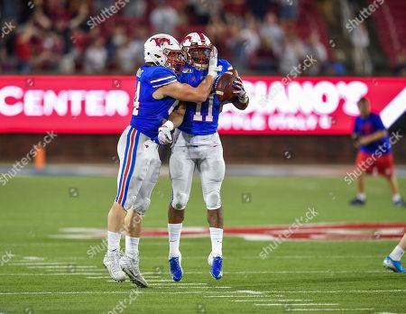 Editorial image of NCAA Football Tulsa vs SMU, Dallas, USA - 05 Oct 2019