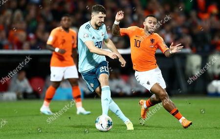 Editorial photo of Netherlands v Northern Ireland, UEFA Euro 2020 Qualifying Group C, Football, De Kuip Stadium, Rotterdam, The Netherlands - 10 Oct 2019