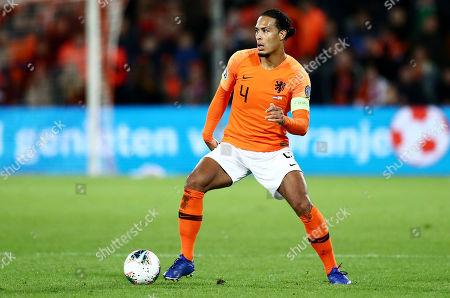 Editorial picture of Netherlands v Northern Ireland, UEFA Euro 2020 Qualifying Group C, Football, De Kuip Stadium, Rotterdam, The Netherlands - 10 Oct 2019