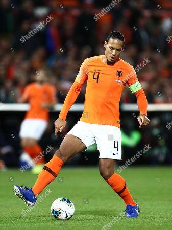Stock Picture of Virgil van Dijk of Netherlands.
