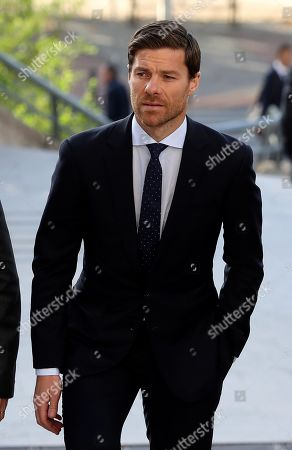 Editorial photo of Trial of former soccer player Xabi Alonso for alleged tax fraud, Madrid, Spain - 09 Oct 2019