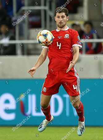 Stock Picture of Ben Davies of Wales