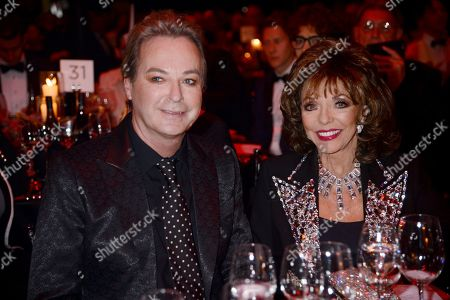 Julian Clary and Dame Joan Collins