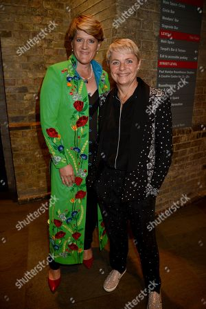Stock Image of Clare Balding and Alice Arnold