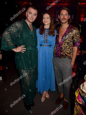 Sam Smith, Sophie Ellis-Bextor and Glyn Fussell