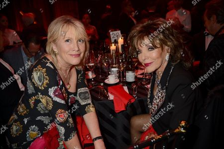 Guest and Dame Joan Collins