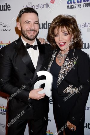 Editorial picture of Attitude Awards, Roundhouse, London, UK - 09 Oct 2019