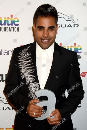 Stock Picture of Dr. Dr Ranj winner of The Attitude Television award