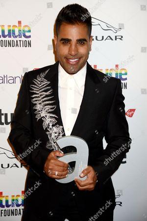 Editorial photo of Attitude Awards, Roundhouse, London, UK - 09 Oct 2019