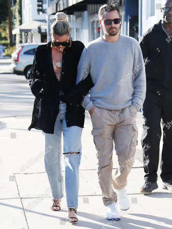 Khloe Kardashian and Scott Disick