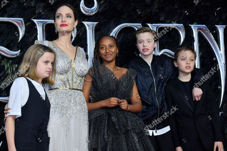 Editorial photo of 'Maleficent: Mistress of Evil' film premiere, London, UK - 09 Oct 2019