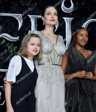 Editorial photo of 'Maleficent: Mistress of Evil' film premiere, London, UK - 09 Oct 2019