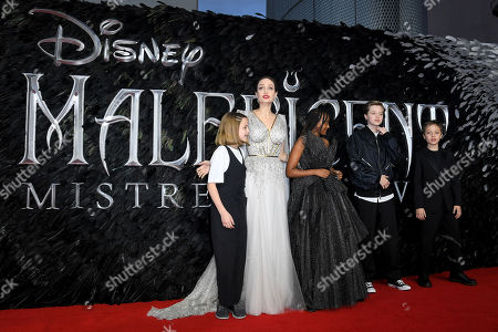 Editorial picture of 'Maleficent: Mistress of Evil' film premiere, London, UK - 09 Oct 2019