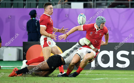 Editorial picture of Wales v Fiji - Rugby World Cup - Pool D - 09 Oct 2019