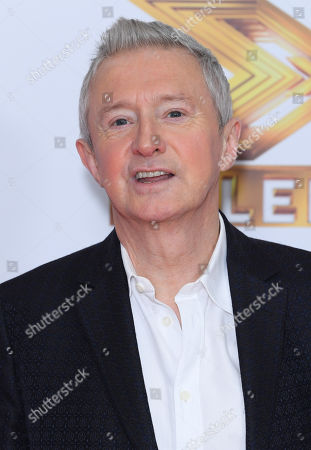 Stock Image of Louis Walsh