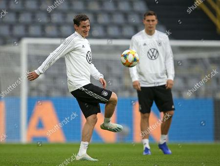 Stock Photo of 08.10.2019, Football,  , Training Germann National Team Signal Iduna Park Dortmund. Sebastian Rudy (Germany)