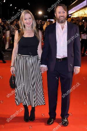 Stock Picture of Victoria Coren Mitchell and David Mitchell