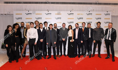 Stock Image of Pearl Mackie, Pixie Lott, Jamie Blackley, Matthew Bentley, Ollie Locke, Asa Butterfield, James Blunt, Manolis Emmanouel, Steve Coogan, Dinita Gohil, David Mitchell, Jonny Sweet, Tim Key, Christophe De Choisy and Michael Winterbottom