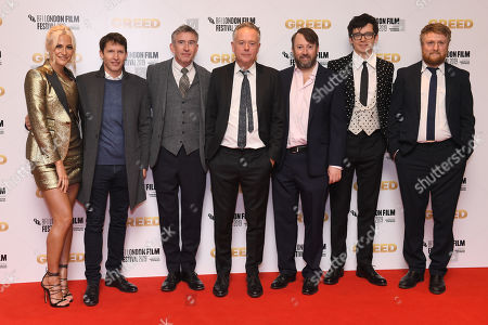 Stock Picture of Pixie Lott, James Blunt, Steve Coogan, Michael Winterbottom, David Mitchell, Asa Butterfield and Tim Key