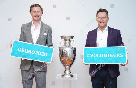 Editorial picture of UEFA EURO 2020 roundtable, London, UK - 08 Oct 2019