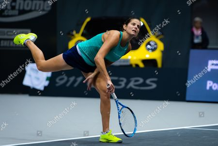 Stock Image of Julia Goerges of Germany in action during her second-round match