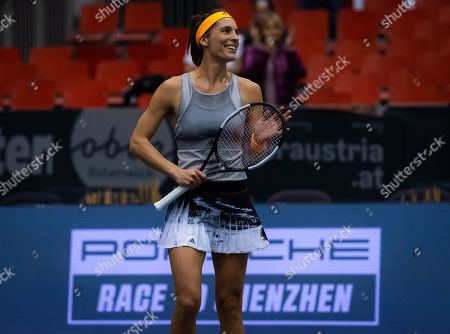 Stock Photo of Andrea Petkovic of Germany in action during her second-round match