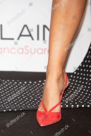 Blanca Suarez, shoe detail