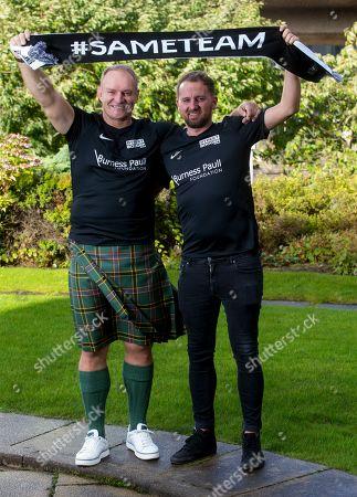 Editorial photo of Street Soccer Scotland photoshoot, Glasgow, UK - 09 Oct 2019