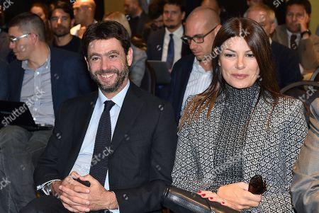 Editorial image of Buffon ambassador of UN World Food Programme, Torino, Italy - 09 Oct 2019