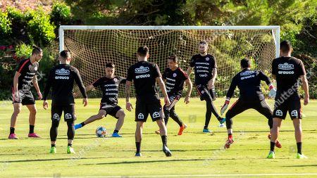 Editorial photo of Chile's training session, La Manga, Spain - 09 Oct 2019