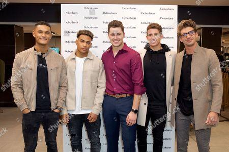 Editorial image of Debenhams meet and greet with Love Island Stars, London, UK - 09 Oct 2019