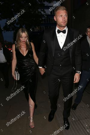 Andrew 'Freddie' Flintoff and Rachael Flintoff