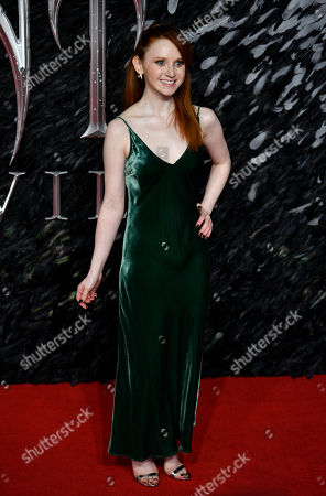Northern Irish actress/cast member Jenn Murray attends the UK premiere of 'Maleficent: Mistress of Evil' in London, Britain, 09 October 2019. The film will be released in the UK on 18 October.