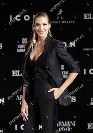 Patricia Montero poses for the media during the ICON awards gala held at Spanish Royal Tapestry Factory in Madrid, Spain, 09 October 2019. The event was organized by Spanish magazine ICON.