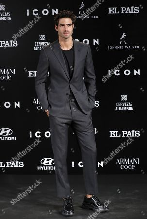 Juan Betancourt poses for the media during the ICON awards gala held at Spanish Royal Tapestry Factory in Madrid, Spain, 09 October 2019. The event was organized by Spanish magazine ICON.