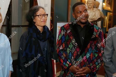 Eugenie Tsai, Curator of Brooklyn Museum and Kehinde Wiley
