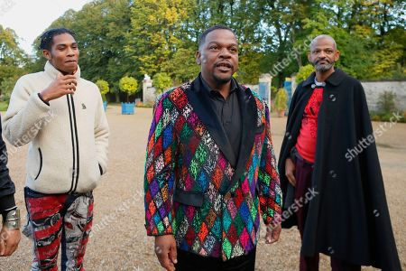 Kehinde Wiley with his colleagues