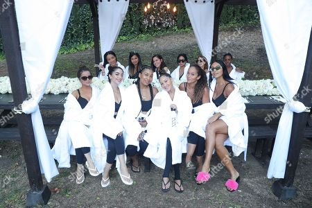 Editorial picture of Adrienne Bailon-Houghton and XIXI Host Wellness Celebration Launch of XIXI Essentials, USA - 06 Oct 2019