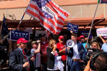 Editorial photo of Trump Impeachment Politics, Casa Grande, USA - 08 Oct 2019