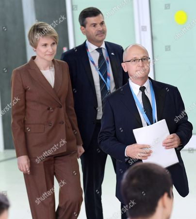 Editorial photo of Meeting of the supervisory board, Sochi, Russia - 04 Oct 2019