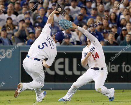 Editorial image of Washington Nationals at Los Angeles Dodgers, USA - 09 Oct 2019