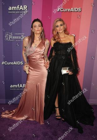 Paris Jackson and Caroline D'Amore