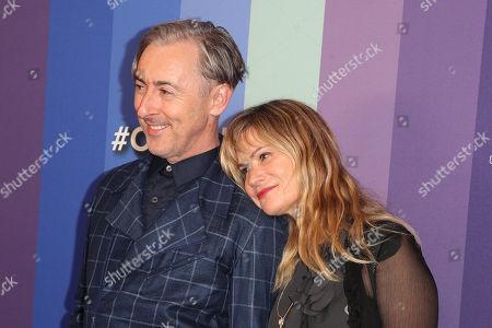Stock Image of Alan Cumming and Jennifer Jason Leigh